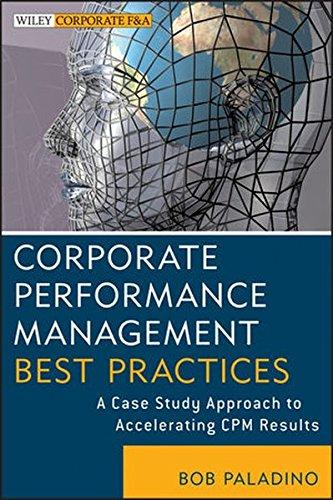 Corporate Performance Management Best Practices A Case Study