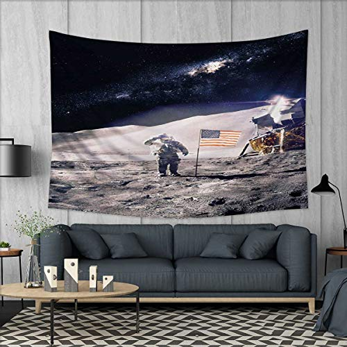 space tapestry table cover bedspread