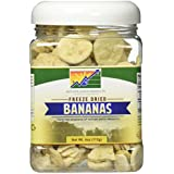 Mother Earth Products Freeze Dried Bananas, Quart Jar,4 Oz