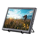 Basense 11.6 Inch 1920X1080 FHD IPS Portable Gaming Monitor with Double HDMI USB(5v) Powered for PS3/P34/XBOX ONE S & Home Security System Built-in Speaker