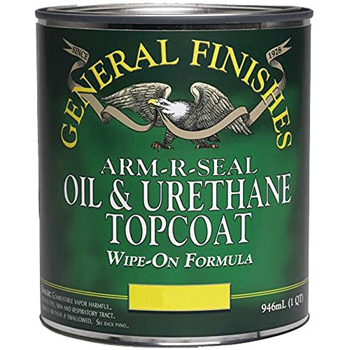 General Finishes Arm R Seal Top Coat, Gloss, Pint (Seal Coat compare prices)