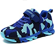 RUNSOON Kids Toddler Camouflage Hiking Shoes Boys Girls Casual Running Sports Sneakers Shoe