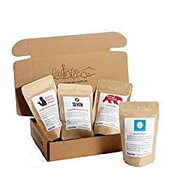 Bean Box Gourmet Coffee Sampler - 12-Month Gift Subscription - (whole bean, 4 roasts every month)