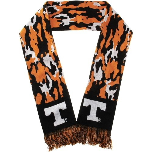 (Forever Collectibles 47 Brand Tennessee Volunteers Camouflage Scarf - Tennessee Orange/Black/White)