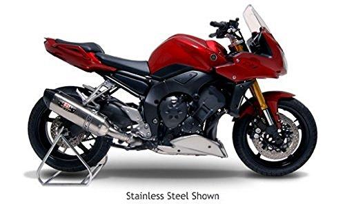 Yoshimura TRS Tri-Oval Carbon Fiber Street Bike Complete Exhaust System - Suzuki GSX1300R Hayabusa 2008-2009