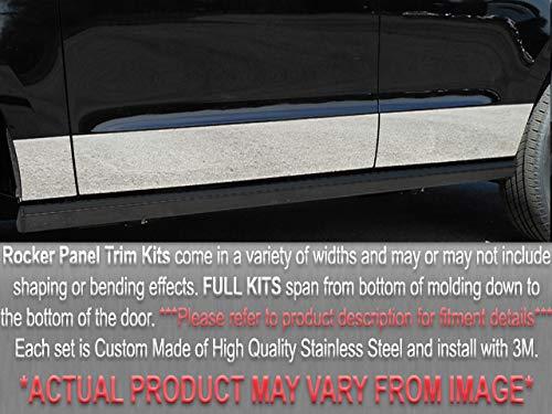 (QAA FITS Regal 1998-2004 Buick (8 Pc: SS Rocker Panel Body Accent Trim, 6.313