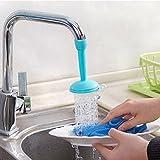 Farmhouse Coffee Table Plans LtrottedJ Kitchen Faucet Bath Shower Anti Splash Filter Tap Water-saving Device ,Head (Blue)