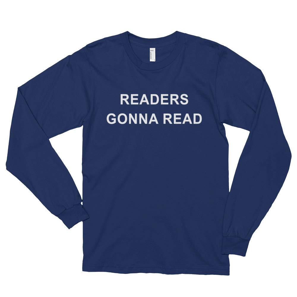 Trendy Readers Sweatshirt Tee Shirt Funny Book Lover Long Sleeve Joke Tshirt