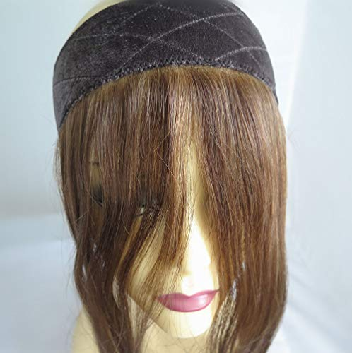 - Jewish Wig Lace Grip,14 inches Invisible Hairline Comfortable Headband, 12/8 Color