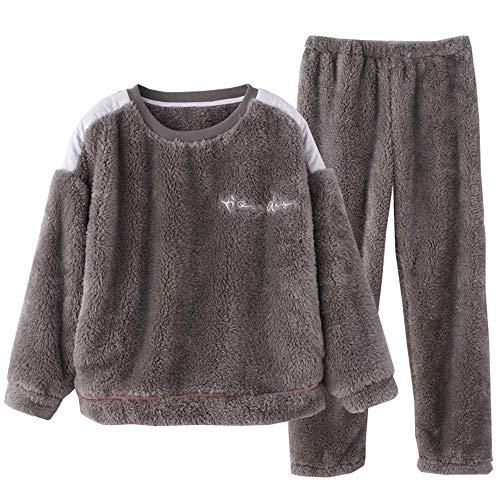 Se Otoño Pueden Afuera Acolchado Conjunto Pijamas Mmllse Female E Cachemira De Del Usar Hogar Cálido Invierno 1z0Tqw