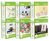Anna Griffin Cricut Cartridges Soiree Bundle Lot Seasonal Cards Fonts Crafts