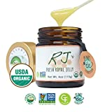 GREENBOW Organic Fresh Royal Jelly - 100% USDA Certified Organic, Pure, Gluten Free, Non-GMO Royal Jelly - One of The Most Nutrition Packed Diet Supplements - Highest Quality Royal Jelly - (113g)