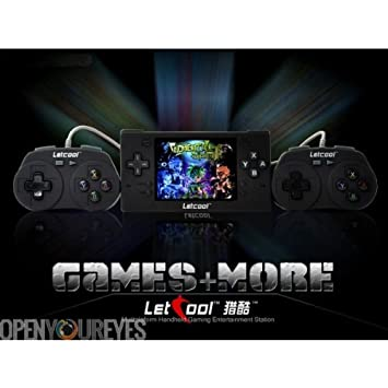 LetCool N350JP Pocket Console RetroGame Free Video Games + 2