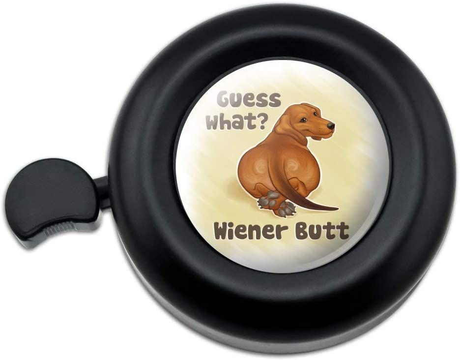 Cool Dogs on Framed on Fence Pattern Bicycle Handlebar Bike Bell
