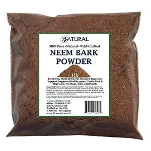 Neem Bark Powder 16ounce-Dental and Digestion Support-Tooth Powder-Pure Neem Bark Powder 147