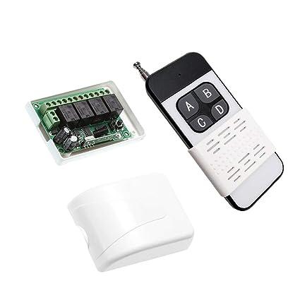 SM SunniMix Interruptor de Control Remoto de Relé Micro ...