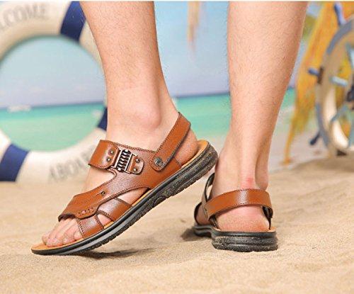 Playa Los De De Zapatos Hombres Transpirable Libre Al Deportes Senderismo Casuales Aire Sandalias Verano Los Yellow EBrBqSHxw