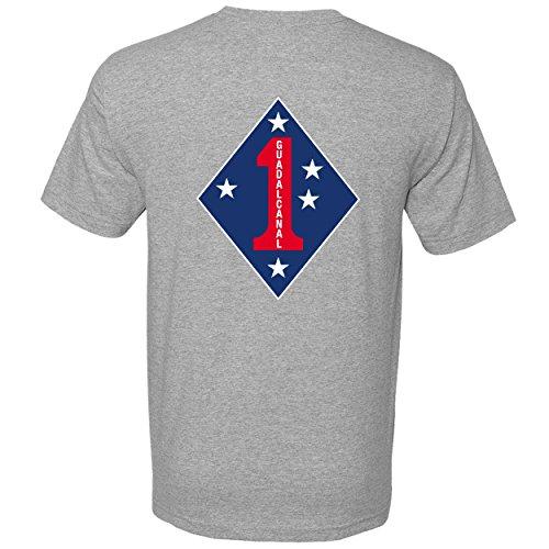 1st Marine Division Crew Neck Tshirt