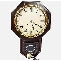 Global Art World Seth Thomas Antique Drop Octagon Wooden Collectible Pendulum Wall Clock HB 047