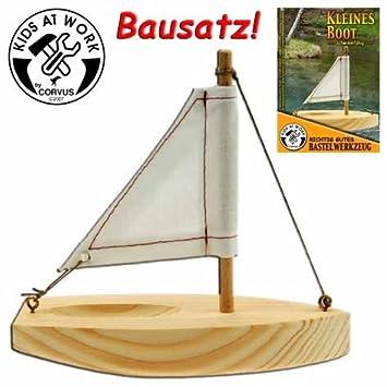 CORVUS 600590 CP kleinen Boot, Holz Farbe: Amazon.de: Spielzeug