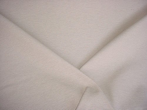 (66VV4 - Taupe / Soft Beige 100% Cotton Ticking Mattress Stripe Pinstripe Strie Plains Stripe Designer Upholstery Drapery Fabric - By the Yard)