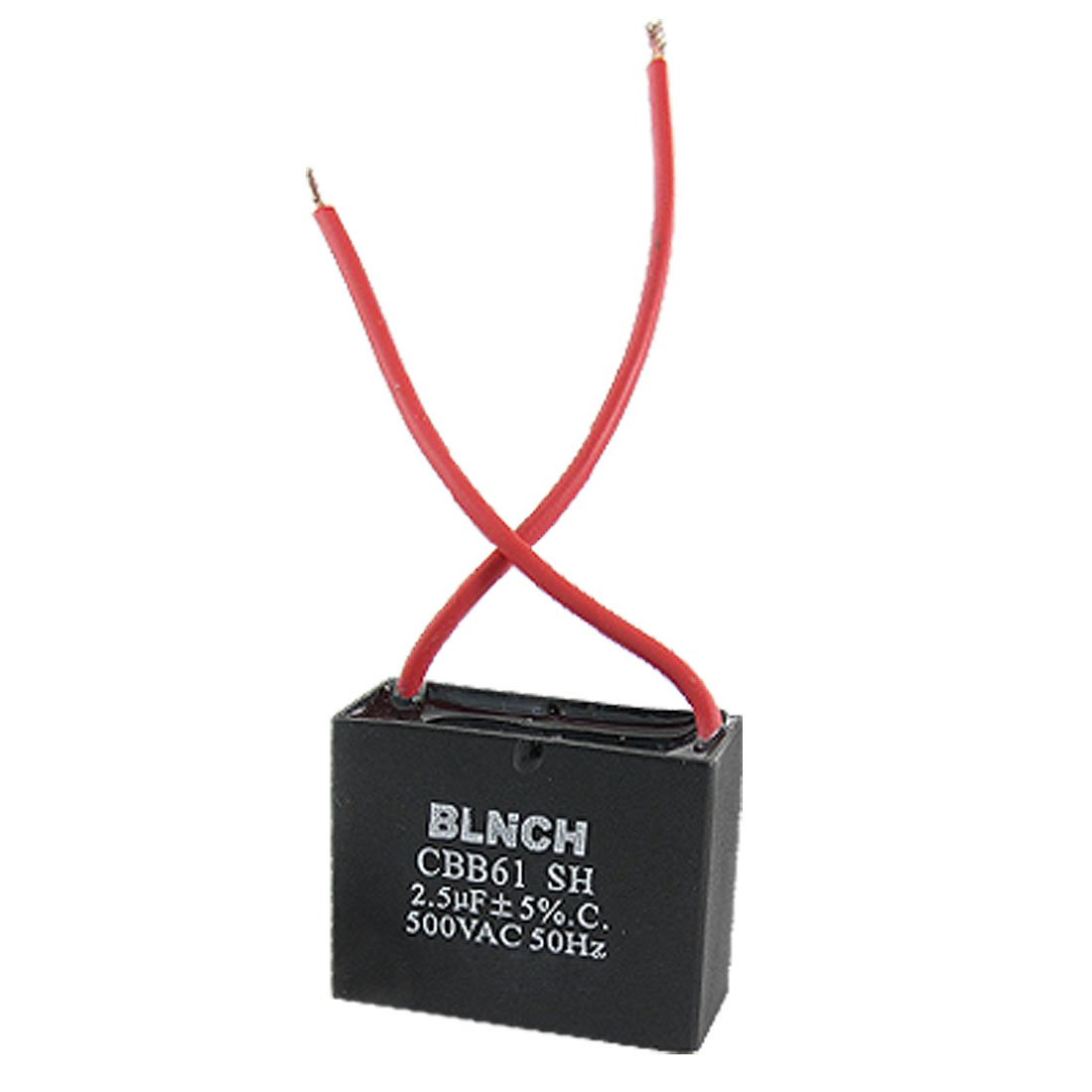 Com Aexit Ceiling Fan Capacitor Cbb61 2 5uf 500vac Wire 50hz Electronics