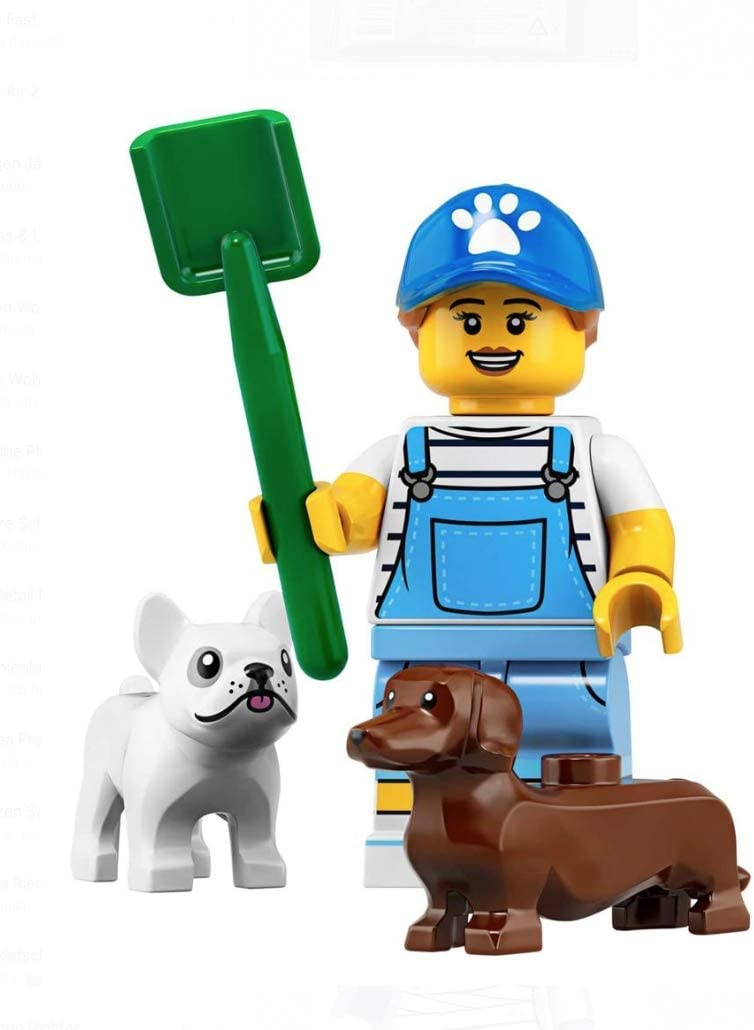 LEGO Minifigures Series 19 Dog Sitter + Dogs Minifigure 71025