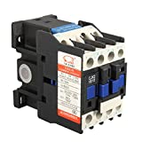BephaMart AC Contactor AC220V Coil 32A 3-Phase 1NO 50/60Hz Motor Starter Relay LC1 D1810
