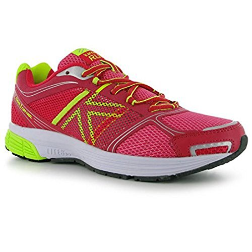Karrimor Womens Ladies Green Laced Trainers Shoes 3 Pink Tempo Running Control Sport Up Pink 11rxqwdg