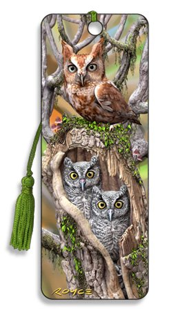 Artgame - Owl - 3D Bookmark from Artgame