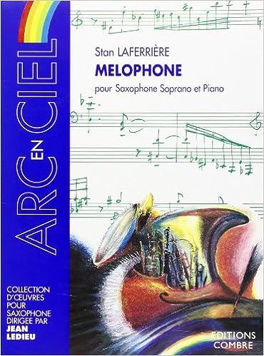 Livre gratuits en ligne Mélophone pour Saxophone soprano et piano pdf