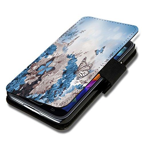 Book Style Flip Handy Tasche Case Schutz Hülle Schale Motiv Etui für Nokia Lumia 920 - Flip 1X9 Design11
