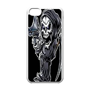 HEHEDE Phone Case Of Wings of death SKULL for iPhone 5C
