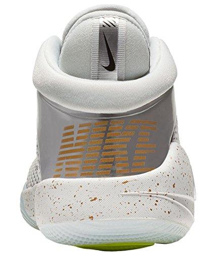 Metallic Flight Chaussures Basketball Nike Platinum garçon de 002 Volt Future Chrome Multicolore Pure GS Gold axwR5gvqS