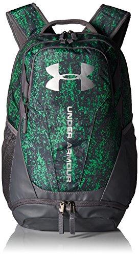 Under Armour Hustle 3.0 backpack, Lime Twist (974)/Silver, One (Designer Bags Online)