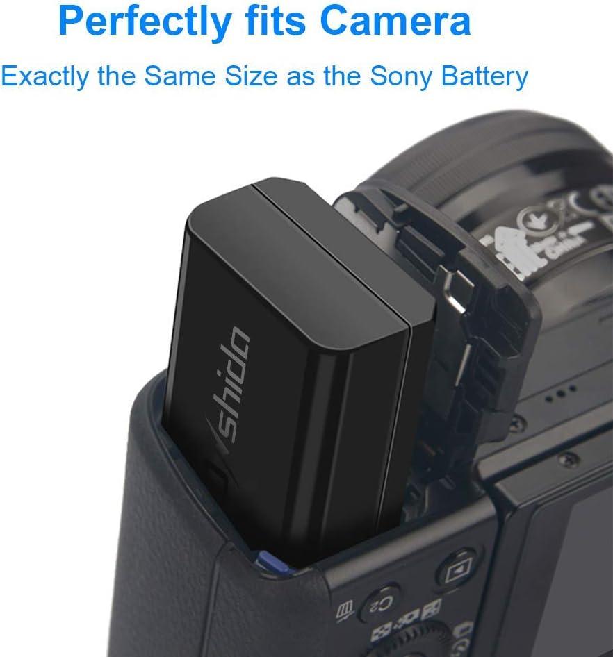 dual-cargador Sony Cyber-shot rx10 II 2 x batería dsc-rx10m2 np-fw50