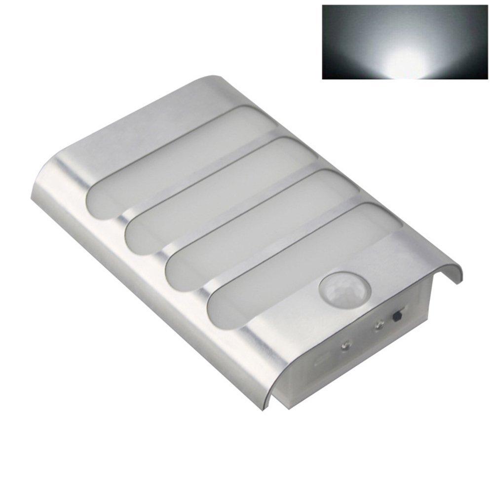 wsloftyGYd Night Light Moisture-proof Wireless Motion Sensor LED Wall Lamp Hallway Stairs Night Light