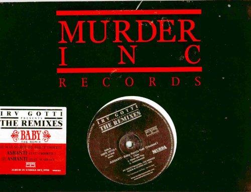 Ashanti ~ Baby Remix (Featuring: Crooked I & Scarface)(Original 2002 Murder Inc Records 015713, 12