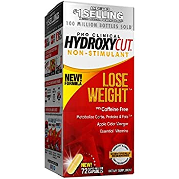 Amazon.com: Hydroxycut Pro Clinical Non-Stimulant Weight