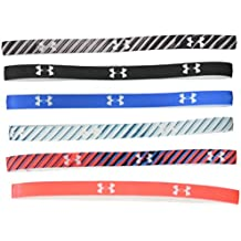 Under Armour Women's Graphic Mini Headbands - 6 Pack