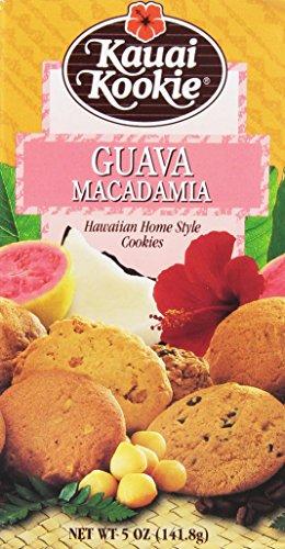 Kauai Kookie Guava Macadamia Cookies Value Pack 4 Boxes ()