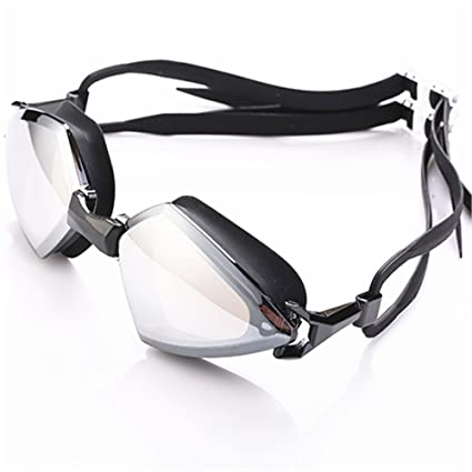 80149fb61422 LINMIAOMIAO HD Swimming Goggles Men And Women Personality Frame Swimming  Glasses Anti-fog Adult Waterproof
