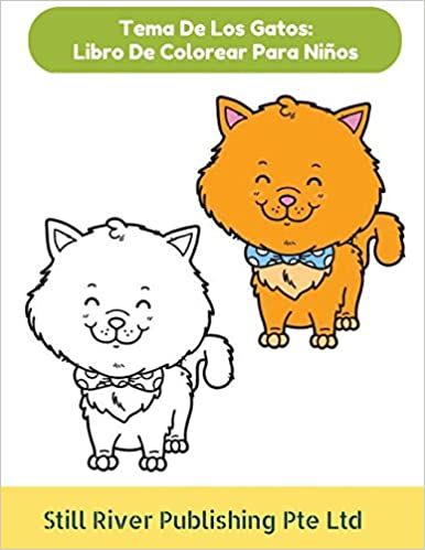 Tema De Los Gatos: Libro De Colorear Para Niños (Spanish Edition) (Spanish) Paperback – October 30, 2017