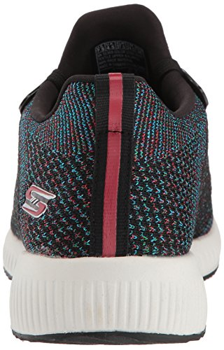 check out e8a55 497fd ... Skechers Bobs Squad Pop Color Sneaker Schwarz ...