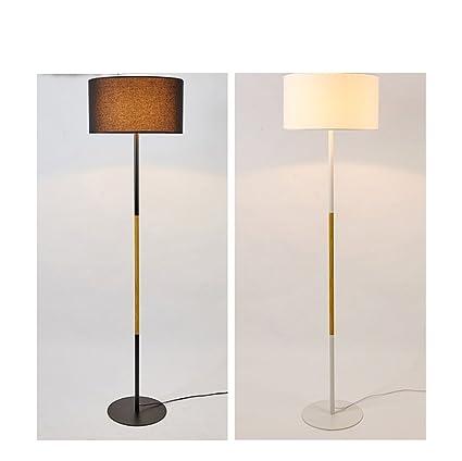 HAGDS Lámpara de pie Creativa Minimalista Moderna de Madera ...