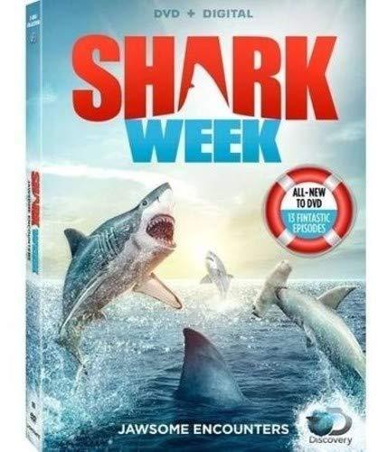 Shark Week: Jawsome Encounters [DVD + Digital] -