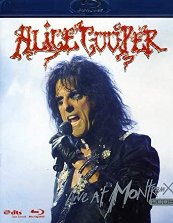 23e6f10be86c5 Amazon.com: Alice Cooper: Live at Montreux, 2005 [Blu-ray]: Alice ...