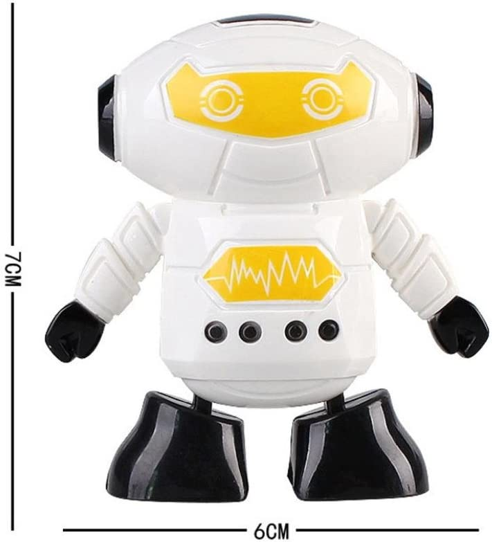Kolylong Walking Toy Clockwork Wind Up Running Robot Toy for Baby Kids Developmental Gift Puzzle Toys
