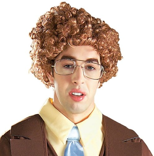Rubie's Costume Napoleon Dynamite Wig, Brown, One Size -