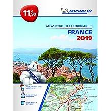 France 2019  Atlas routier et touristique
